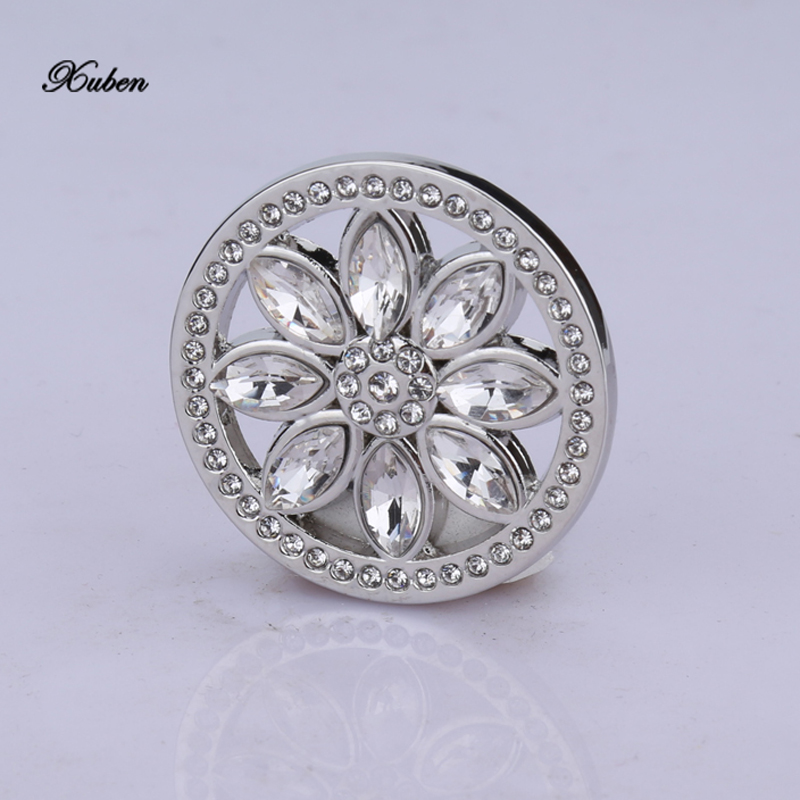 My Coin 33mm Disc Silver Plated Coins Pendants Fit 35mm Coin Frame DIY Fashion Jewelry Necklace For Women Gift