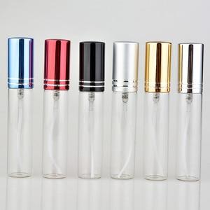 Image 1 - Flacon de parfum coloré Portable en verre avec atomiseur conteneur à cosmétiques vide de voyage, flacon de pulvérisation, 10ML, 20 pièces/lot