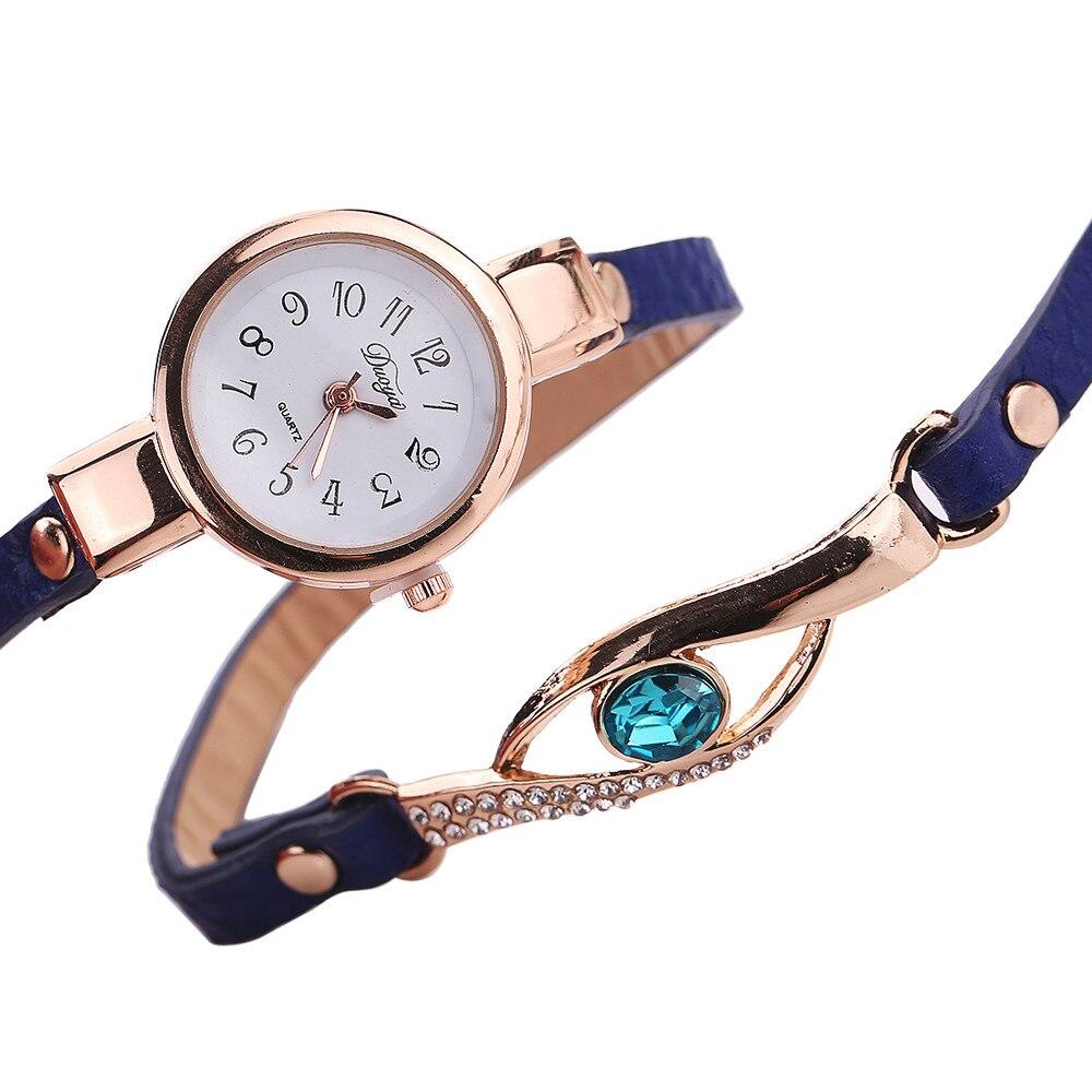 Ladies Bracelet Watch - purple