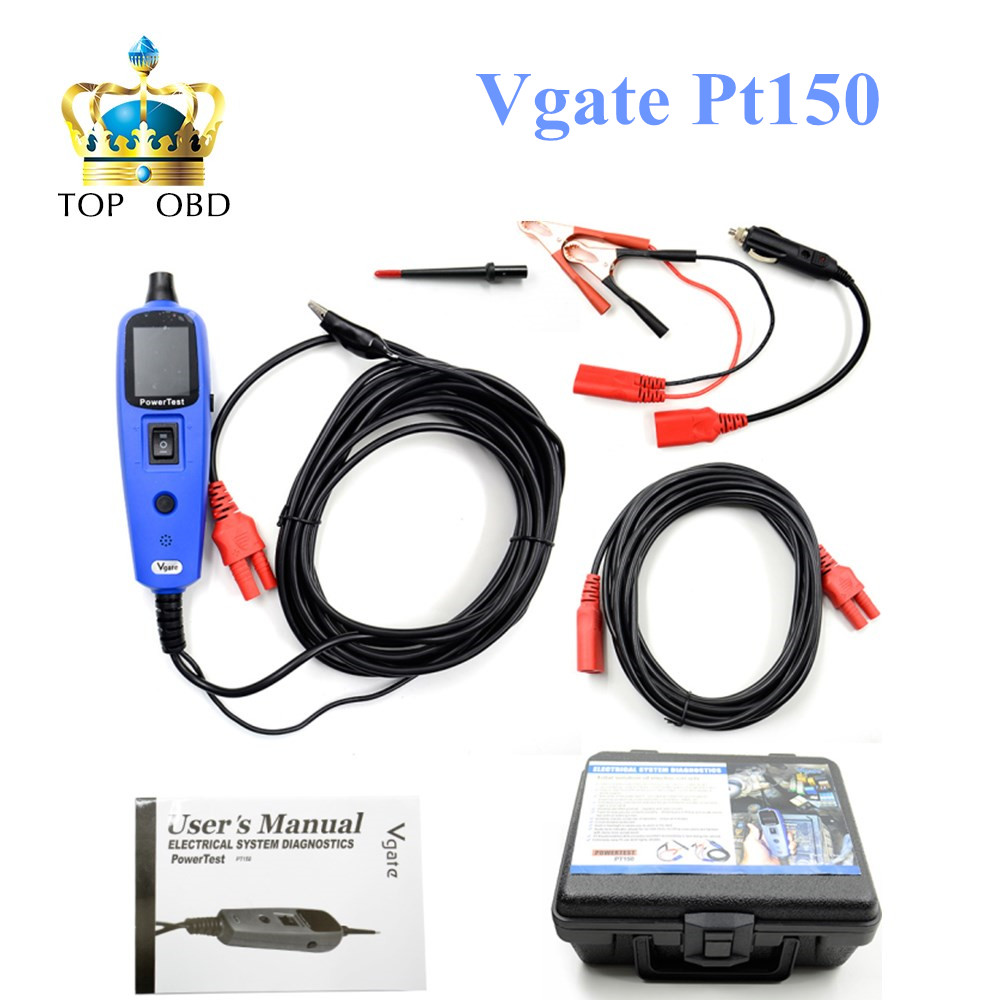 ФОТО Power Probe Car Electric Circuit Tester Automotive Tools Auto Voltage Vgate Pt150 Electrical System Tester Same as Autek YD208