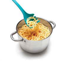 Practical Multifunctional Loch Ness Monster Pasta Spaghetti  Serving Fork Filter Spoon Kitchen gadgets Accessories organizer