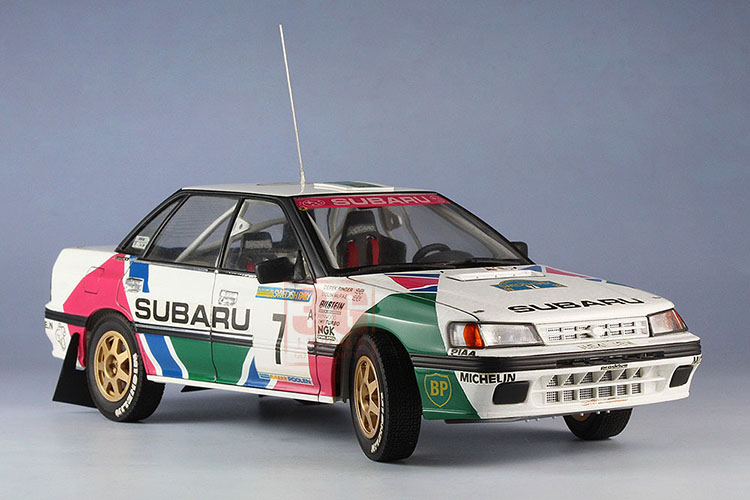 20290 1 24 Subaru Legacy Rs 92 Swedish Rally In Model Building Kits