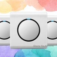 High Quality Funshion Click Switch 1 Gang 1 Way 2 Way Pressure Switch Push Button