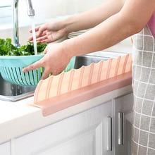 Creative Practical Kitchen Sink Water Splash Screen Baffle TPR Material Strong Absorption Reusable Supplies