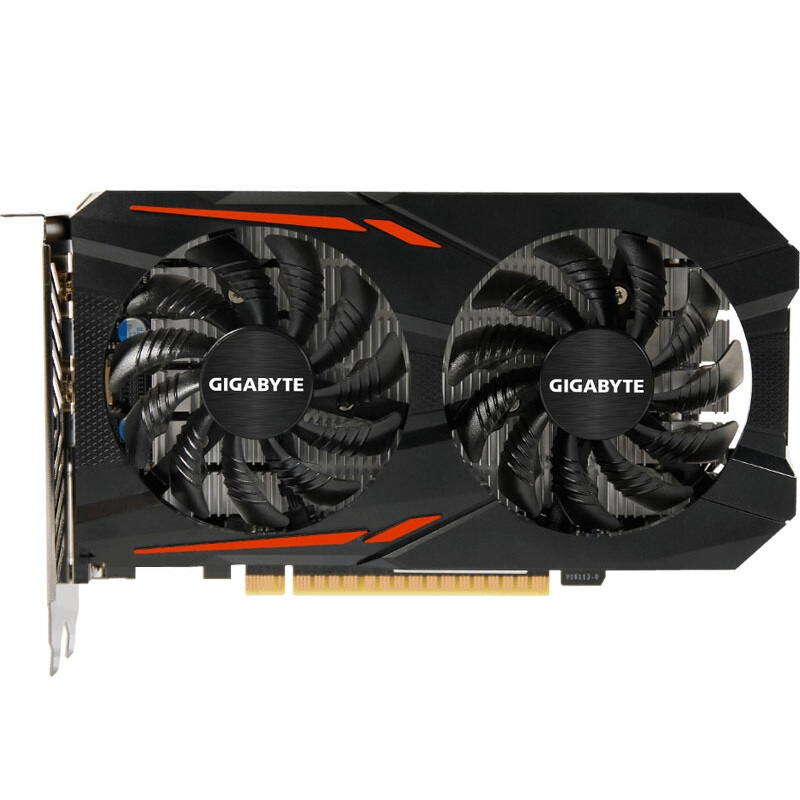 Used GIGABYTE Video Card GTX 1050 Ti 4GB 128Bit GDDR5 Graphics Cards for nVIDIA VGA Cards