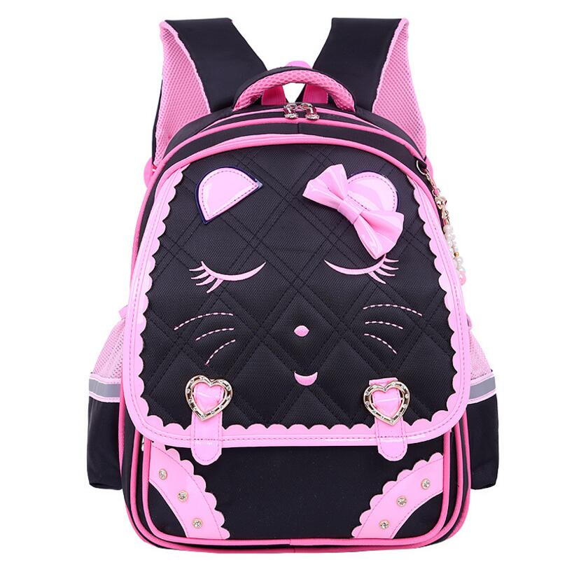 Kids Cartoon School Bags Children backpacks Waterproof Nylon girl orthopedic school bag Printing Backpacks Book Bag Mochilas 2016 new fashion novelty despicable me kids cartoon backpacks children minion school bag boy girl mochilas