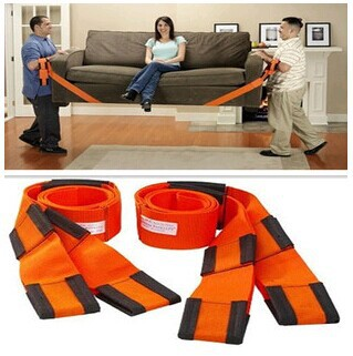 2pcs/set Promotion Useful Furniture Carrying Tools Moving Straps Forearm Delivery Transport Natural Packing Rope