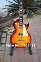 Hersteller für die herstellung beste qualität elektrische gitarre tiger stripes LP angepasst werden Ems-freies Verschiffen