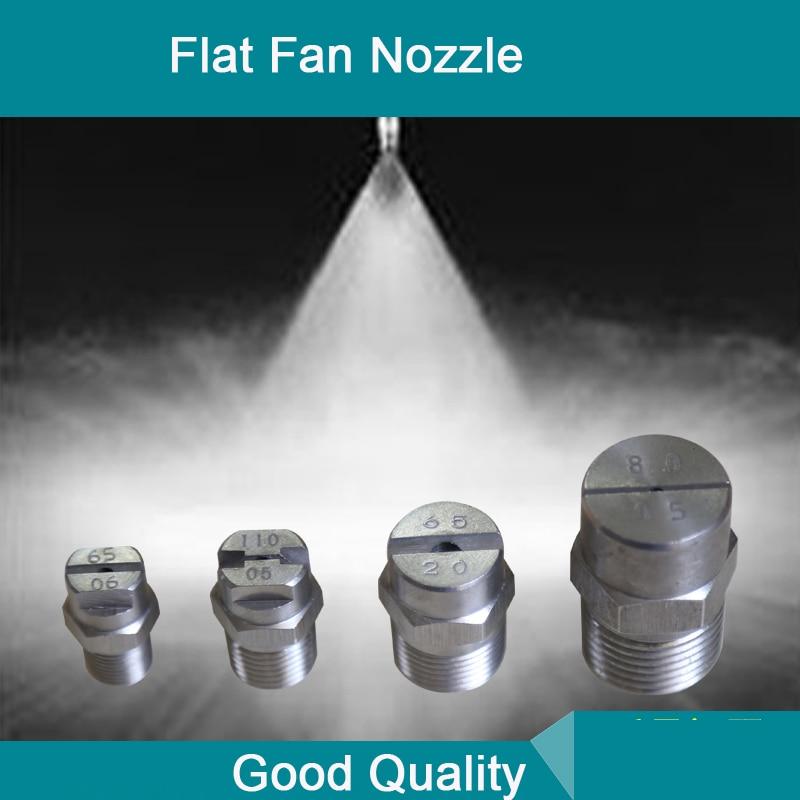 Flat Fan Nozzle High Quality Water Washing Jet Flat Fan