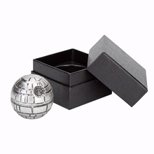 ФОТО 3 parts zinc alloy star wars herb grinder weed  mill smoke spice muller tobacco crusher grinder cigarettes accessories wiith box