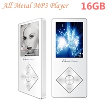 Portable HiFi mp3 player 16GB Built-in Speaker MP3 Music Player Walkman Audio Video Player Hi-Fi Sound Expandable Up to 64GB