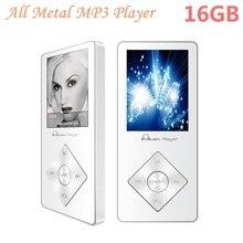 Altavoz Incorporado de Alta Fidelidad portátil reproductor de mp3 16 GB Reproductor de Música MP3 Walkman Reproductor de Vídeo de Audio de Alta Fidelidad de Sonido Ampliable hasta 64 GB