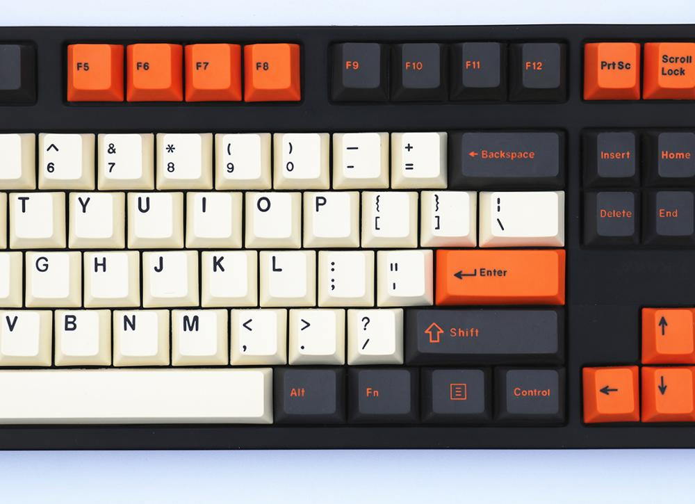 Image 5 - Carbon Thick PBT double shot 106 Keycaps Cherry Profile MX switches Cherry/NOPPOO/Flick/Ikbc Keycap Only sell keycaps-in Keyboards from Computer & Office