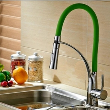 Керамический Клапан Ванная Комната Кухонный Кран Смесителя Одной Ручкой На Бортике Chrome