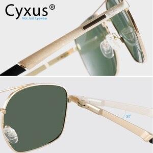 Image 4 - Cyxus  Polarized Sunglass Classic UV 400 Square Shades Men Women with UVA UVB Protection Unisex 1002