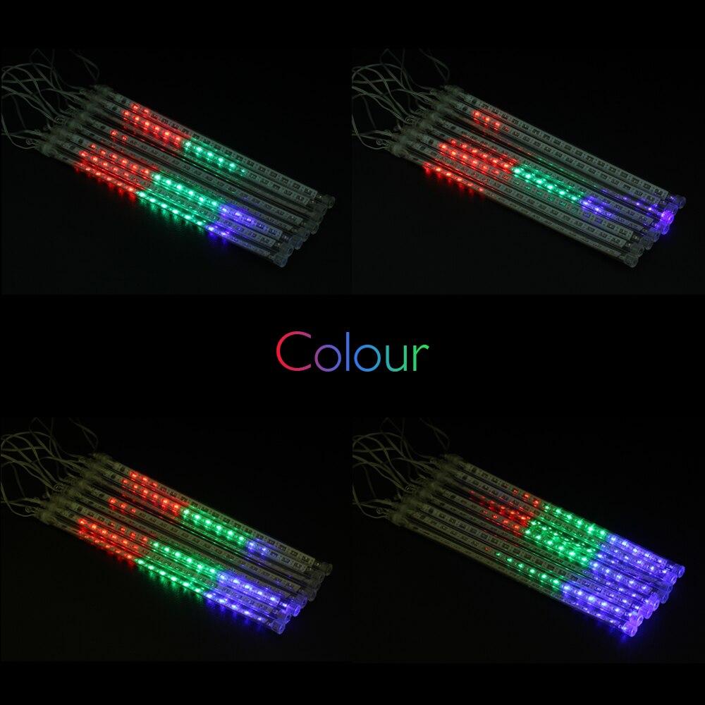 Lights Are Us: LED Meteor Light 30cm 50cm 8Tubes Meteor Shower Rain Light
