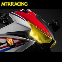 For HONDA CBR500R CBR 500R CBR 500 R 2016 2018 Acrylic Headlight Protector Cover Screen Lens Motorcycle accessories