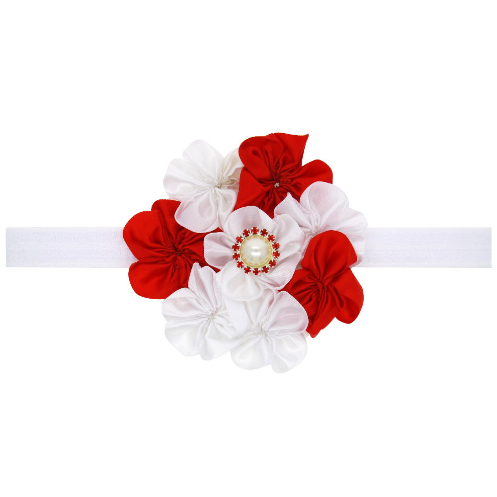 JRFSD Colourful Flower Hair Band Beautiful elasticity Headband Headwear  Hair Accessories H9-in Hair Accessories from Mother   Kids on  Aliexpress.com ... 39b38f63794