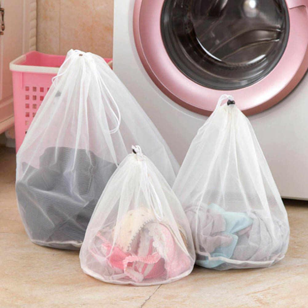 Produtos Sacos de Lavandaria Cestas De Malha Saco de cordão Underwear Bra Cuidados de Limpeza Doméstica Ferramentas e Acessórios Lavandaria Wash