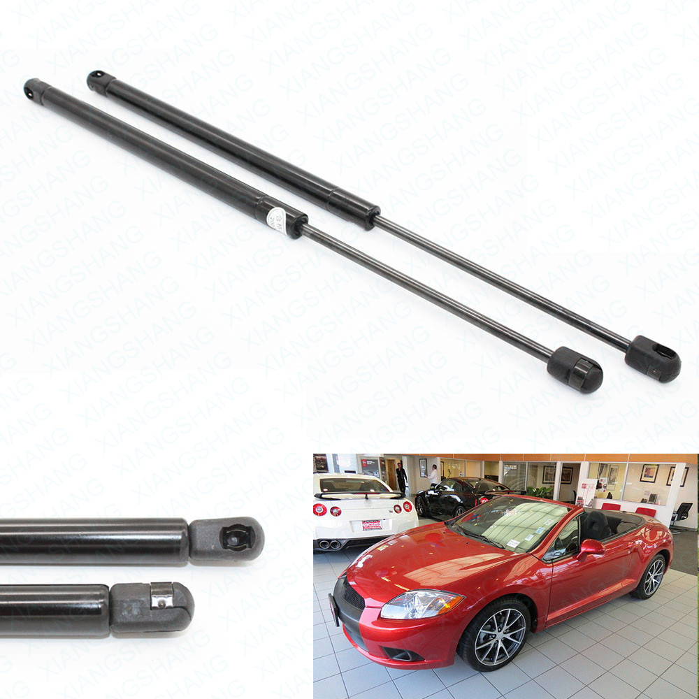Xiangshang Car Parts Store 2pcs Rear Trunk Liftgate Tailgate Boot Gas Charged Lift Support  For Mitsubishi  Eclipse w/o Spoiler 2006-2009 2010 2011 2012