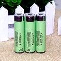 4 pcs original protegido 18650 baterias de 3.7 v 3400 mah bateria recarregável para panasonic ncr18650b uso industrial
