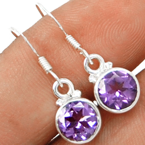 Hand Made Genuine Amethyst Earrings 100 925 Solid Sterling Silver Ke0230 In From Jewelry Accessories On Aliexpress Alibaba Group