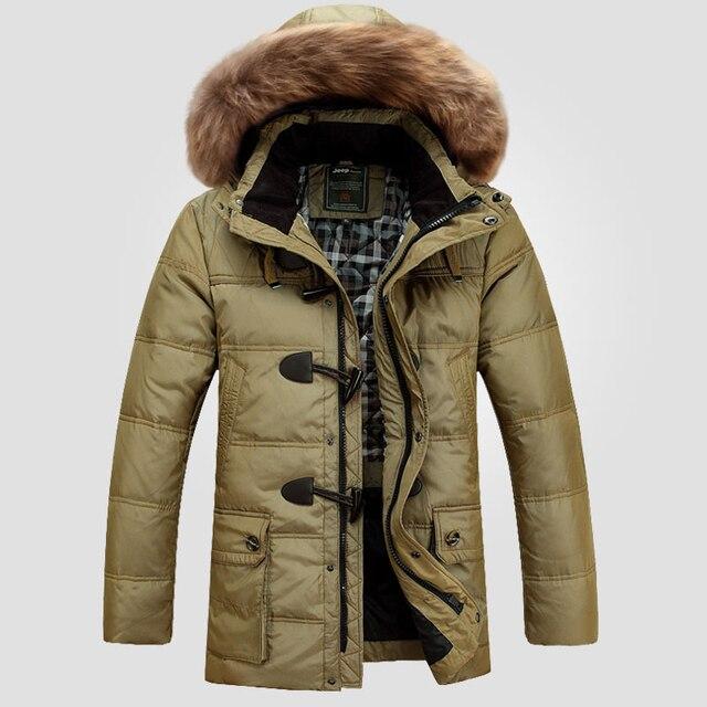 3296c82600fbd Vers le bas Veste 2016 Nouvelle Mode D hiver Veste Hommes Vers Le Bas  Manteau