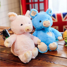 New Style Rabbit Hair Love Pig Plush Toy Soft Doll Cute Pigs Best Gift For Children