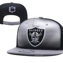 8c15bbb5d82843 raiders snapback cap football team snapback hat rugby football cap visor  custom hats basketball team Cap