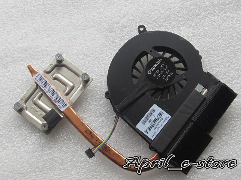 NEW for HP Compaq 655 CPU Fan heatsink 688306-001 , with free thermal paste ,Free shipping ! ! brand new for sony vpc sa sd sr sb cpu fan with heatsink 300 0101 1831 free shipping