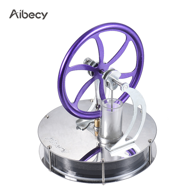 2018 DIY Stirling Engine Generator Low Temperature Stirling Engine Motor Model Heat Steam Physics Experiment Kit Education Toys