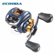 ECOODA 4+1BB Ball Bearing Casting Reel 6.2:1 Gear Ratio  Reel Max Drag 4kg Molinete Para Pesca Casting Magnetic Brake System
