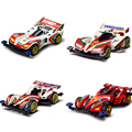 From Japan Original DIY 4WD Racing Car Toys Let's Go WGP MAX Cartoon Collectable Assembled Model 4x4 Driving Car GIfts For Kids