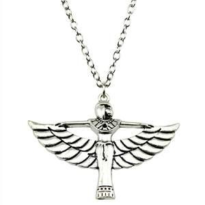 92661b4ac3 WYSIWYG Vintage Long Egypt Pendant Necklaces For Women