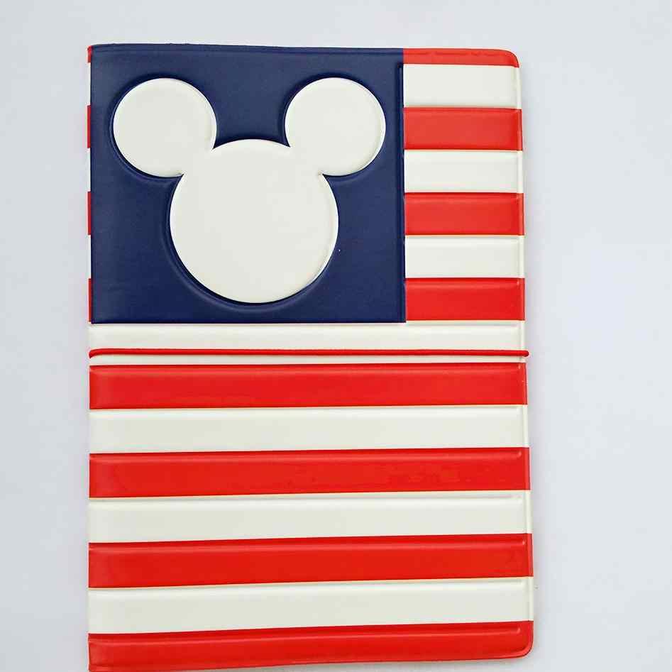 """Großhandel Mode Mickey und Minnie Passport Halter PU Leder Passport Abdeckung Passport Paket Reise Karte Halter Tasche 5,5*3,78"""""""