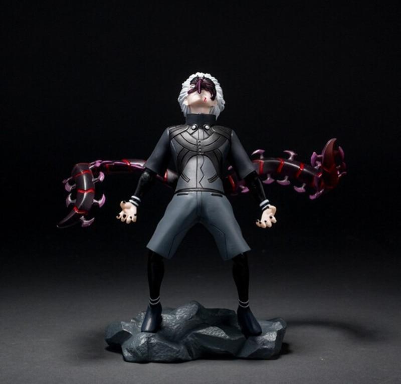 Tokyo Ghoul figura Kaneki Ken Figuras de acción de dibujos animados Anime  Tokyo Ghoul 15 cm colección modelo de juguete de PVC Tokio KA028 en Acción  y ... 240599174036