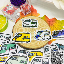 40 pcs Cartoon moving car Stickers for Car Styling Bike Motorcycle Phone Laptop Travel Luggage Cool Funny Sticker Bomb Decals car styling cool flying eagles with wings car stickers bird hawk motorcycle bike decals auto window tail bumpers