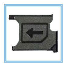 1 Piece Original New Black Color Micro Sim Card Tray Slot Holder Replacement for Sony Xperia Z1 Compact Z1 Mini Sim Card Holder(China)