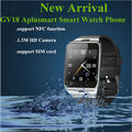 Original Bluetooth Smart Watch GV18 Aplus WristWatch for Samsung HTC LG Huawei Xiaomi Android Phone Smartphones 2015 Hot