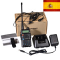 New Black Baofeng UV-5R WalkieTalkie 136-174&400-520MHz Two Way Radio  stock in spain-ship by LETTER-only 3 days recieve