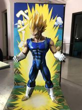 Huong Anime Figure 26 CM Dragon Ball Z The Vegeta 1/6 Scale Painted Comics Ver. Vegeta PVC Action Figure Collectible Model Toy