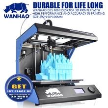 2016 Стабильное Качество DIY 3D Принтер, WANHAO D5S Мини, металлический Каркас с Высокой Точностью, Легко Обработки, Большой Строить Size205 * 305*305 мм