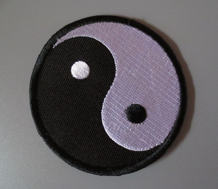 Shop For Cheap Tai Chi Embroidery Patches For Jacket Back Vest Motorcycle Club Biker 7.4cm Patches Arts,crafts & Sewing