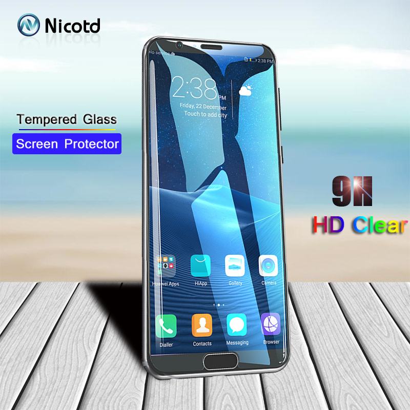Nicotd Premium Tempered <font><b>Glass</b></font> for <font><b>Huawei</b></font> Y9 2019 G6 G7 P8 Lite Y5 2018 Screen Protector protective film For <font><b>Honor</b></font> 6 <font><b>7</b></font> 8x 4c 9 10 image