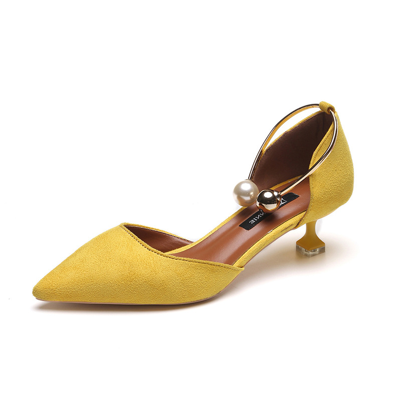 2e43224162ec 2018 Women Sandals High Heels Summer Women Shoes Gladiator Sandals Block  Heels Pearl Strap Women Pumps Chunky Heels Shoes