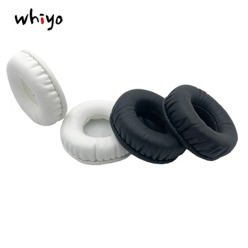 1 Pair of Ear Pads Cushion Cover Earpads Replacement Cups for Plantronic RIG 500E Surround Sound PC Sleeve Headset Earphone image