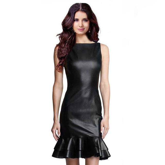 Leather Party Dresses