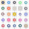 wholesale 25Pcs Dental Orthodontic Elastic Chain 15FT Colorful Elastic Power Chains 3 Size For Choose
