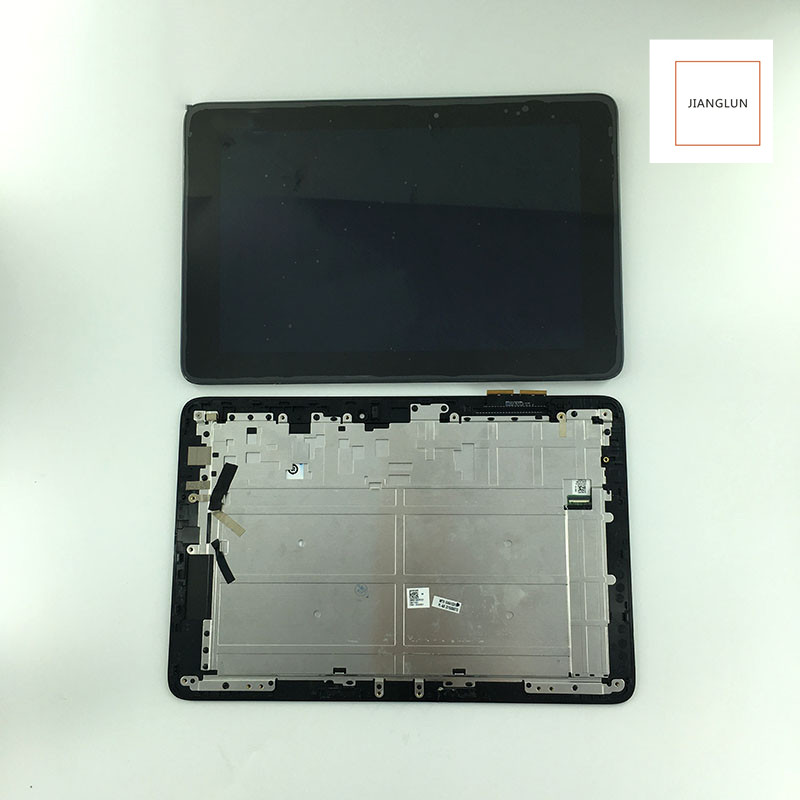 JIANGLUN For ASUS T100H T100HA X5-Z8500 LCD Display + Touch Screen Digitizer Glass Assembly with frame 10 1 inch lcd display touch screen panel digitizer frame assembly for asus transformer book t100h t100ha fp st101si010akf 01x