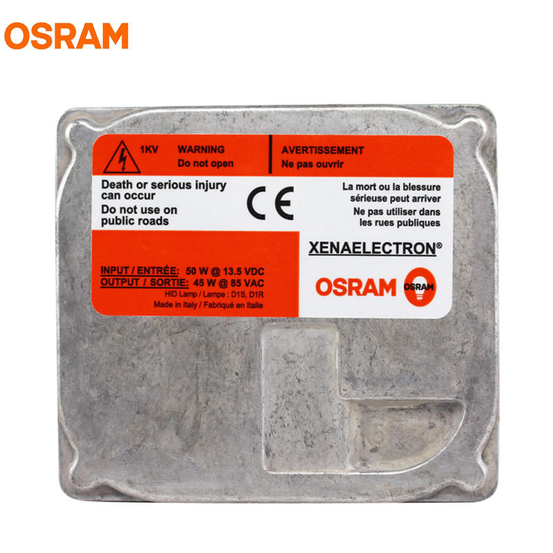 ФОТО New OSRAM 45XT5 D1S D1R 45W XENAELECTRON Off Road Car HID Lamp Headlight Ballast ECG for Automotive Gas Discharge (Pack of 1)